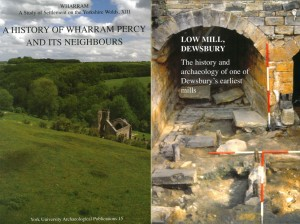 Wharram-Percy-and-Low-Mill-book-covers